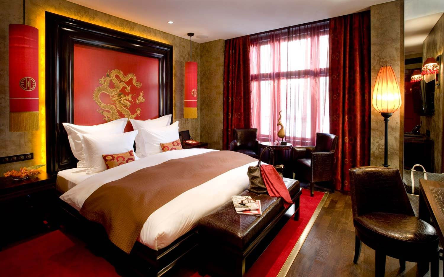 Buddha bar hotel in prague luxury 5 star hotel prague for Designer hotel prague